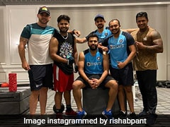 """Australia vs India: """"It's About Brotherhood,"""" Says Rishabh Pant As He Sweats Out In Gym With Rohit Sharma, Others"""