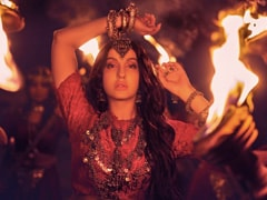 Nora Fatehi's First Look From Her New Single <i>Chhod Denge</i>