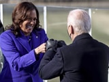 "Video : ""Ready To Serve"": Kamala Harris First Woman To Take Oath As US Vice President"