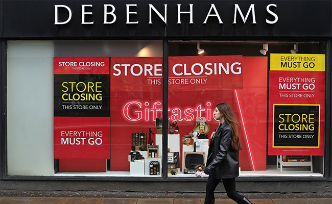 UK Retailer Debenhams Shuts All Stores, Around 12,000 Jobs Lost