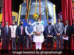 India's First Indigenously Developed Driverless Metro Car Unveiled