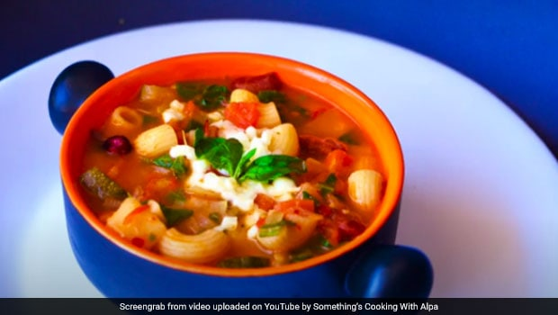 Watch: How To Make Healthy And Tasty Macaroni Pasta Soup For Kids