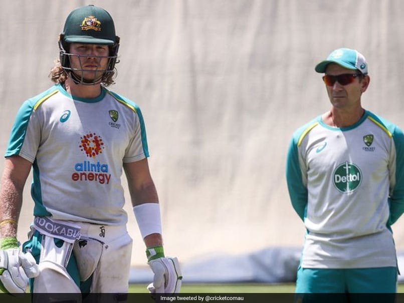 Australia vs India Marcus Harris Will Play If Will Pucovski Not Fit For Gabba Test says Justin Langer