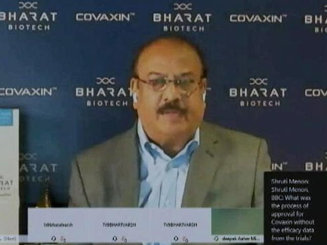 Video : Top News Of The Day: Don't Accuse Us Of Inexperience, We Are Global Company, Says Bharat Biotech