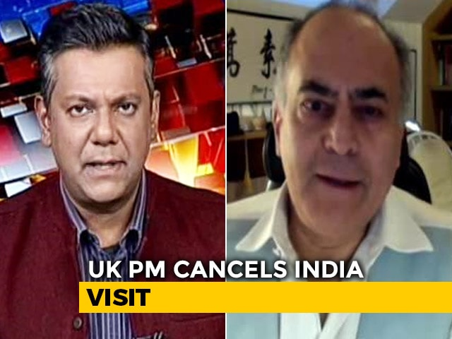 Video : UK Covid Cases Surge, Boris Johnson Cancels India Visit