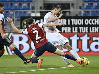 Serie A: Zlatan Ibrahimovic Double As AC Milan Pull Clear Of Inter Milan At The Top