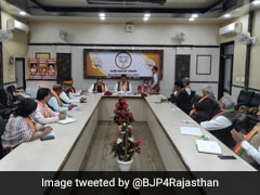 Rajasthan BJP Core Group Meets, Discusses Organisational, Political Issues