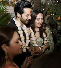 ICYMI: Pics From Varun And Natasha's Roka Ceremony