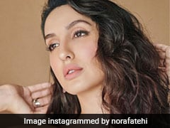 Nora Fatehi Is Blessing Our Feeds With Smokey Eye Makeup And Pink Lipstick
