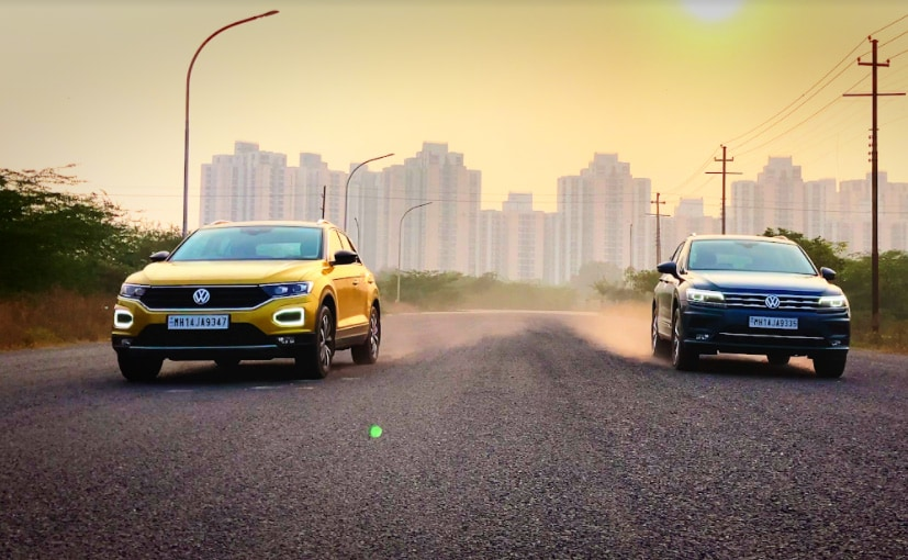 Volkswagen India's Product Portfolio: Tiguan AllSpace and T-Roc