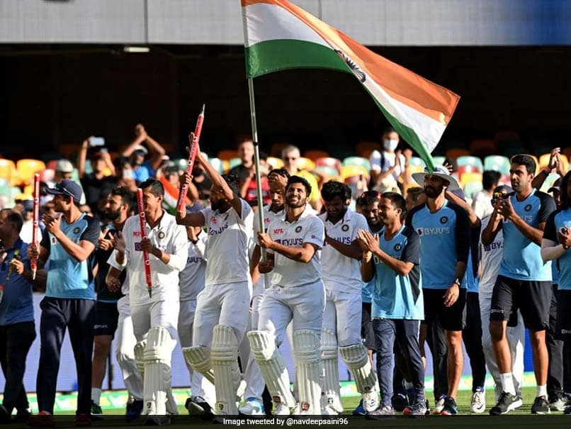 Finance Minister Nirmala Sitharaman Lauds Team Indias Historic Win In Australia During Budget Speech