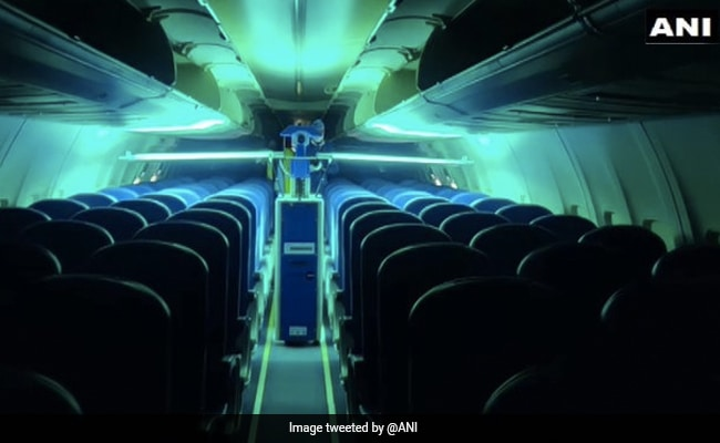 Air India Introduces Robotic Technology To Disinfect Aircraft Interiors