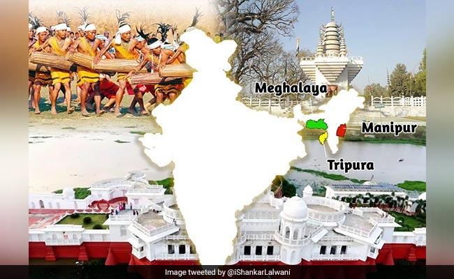 Statehood Day Of Manipur, Tripura and Meghalaya: PM Modi Tweets Greetings