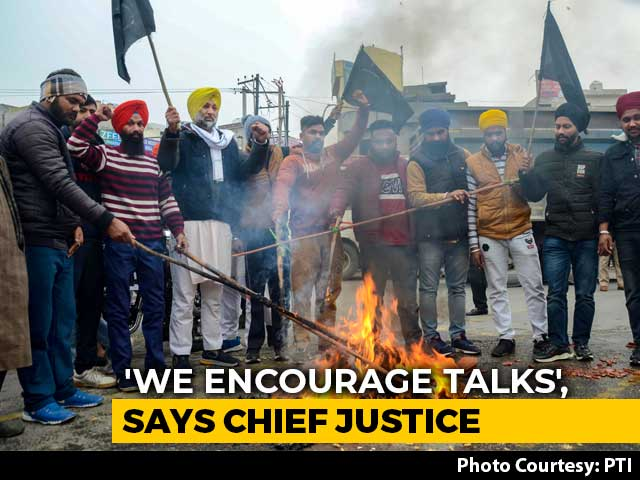 """Video : """"No Improvement In Situation At All"""": Supreme Court On Farmers' Protest"""
