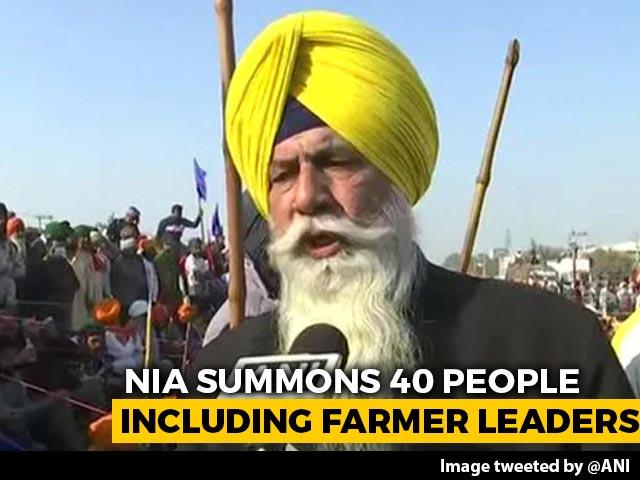 Video : As Probe Agency Summons Punjab Farmers' Leader, Akali Dal Slams Centre
