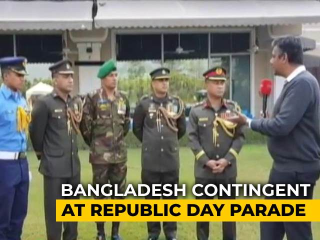 Video : Bangladesh Contingent At Republic Day Parade Speaks To NDTV