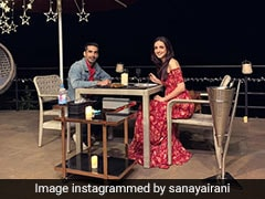 'Naagin' Actor Mohit Sehgal And Sanaya Irani Celebrate 5th Anniversary With Yummy Chocolate Cake (See Pic)