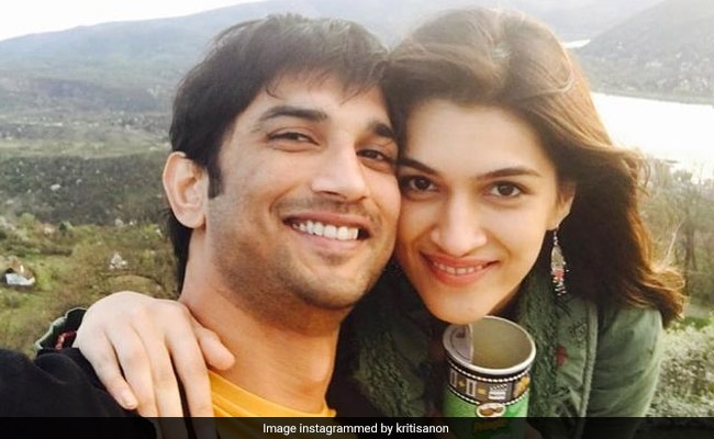 This Is How Kriti Sanon Would Always Like To Remember Sushant