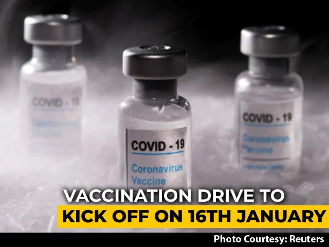 Video : Covid Vaccination Drive To Begin On Jan 16, Landmark Step, Tweets PM Modi