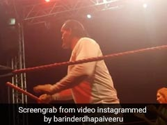Sapna Choudhary जब खली के साथ उतरीं WWE के रिंग में, जबरदस्त अंदाज में किया डांस- देखें Video