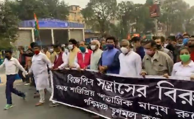 'गोली मारो... को', सालभर में कोलकाता में दूसरी बार गूंजा भड़काऊ नारा, दीदी के मंत्री भी थे मौजूद