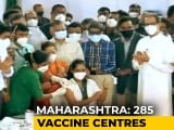Video : Maharashtra Chief Minister Launches Vaccination Drive From Mumbai