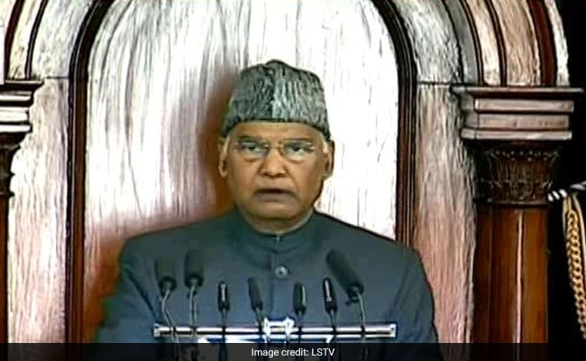 Full Text Of President Ram Nath Kovind's Address To Joint Sitting Of Parliament