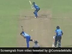 Syed Mushtaq Ali Trophy: एक मिनट के Video में देखें मोहम्मद अजहरुद्दीन का दबदबा, 37 गेंदों में ठोक डाला शतक