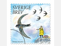Climate Activist Greta Thunberg Features On Swedish Stamps
