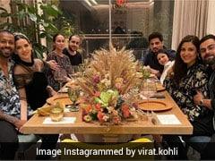 अनुष्का शर्मा- विराट कोहली ने घर पर रखी न्यू ईयर पार्टी, दोनों के करीबी दोस्त हुए शामिल... देखें Photos