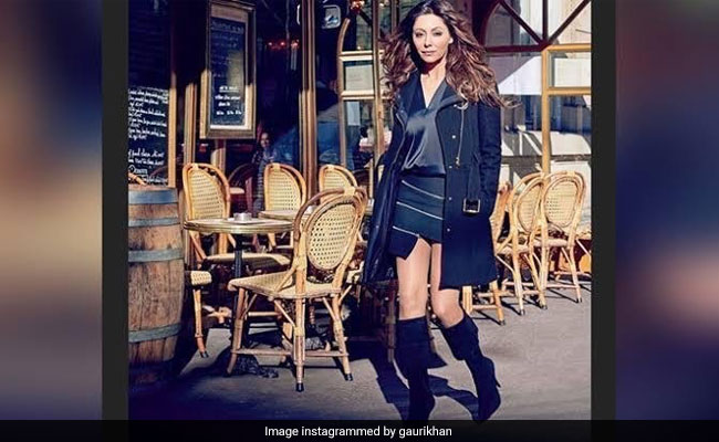 Gauri Khan Being Her Stunning Self In This Throwback From Paris