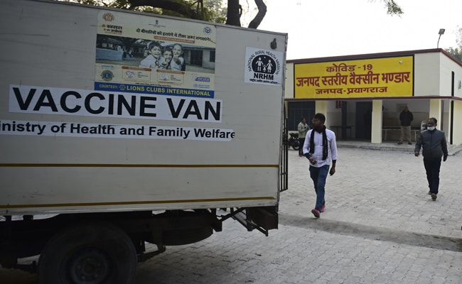 Remaining UP Health Workers To Get COVID-19 Vaccines By Friday: Official