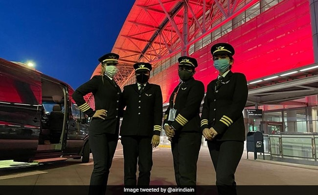 A Special Mention To Air India's All-Women Crew In PM's Radio Address