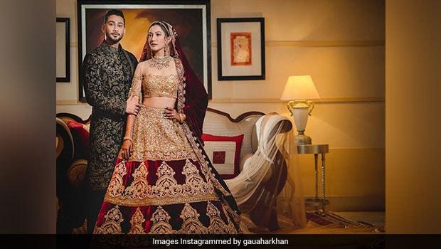 Viral: Gauahar Khan And Zaid Darbar's Wedding Cake Was A Majestic Affair (Pics Inside)