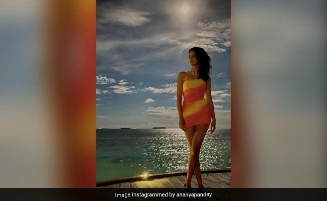 अनन्या पांडे पीले रंग के मोनोकनी ड्रेस में मालदीव में करवाया ग्लैमरस फोटोशूट, देखें Photos