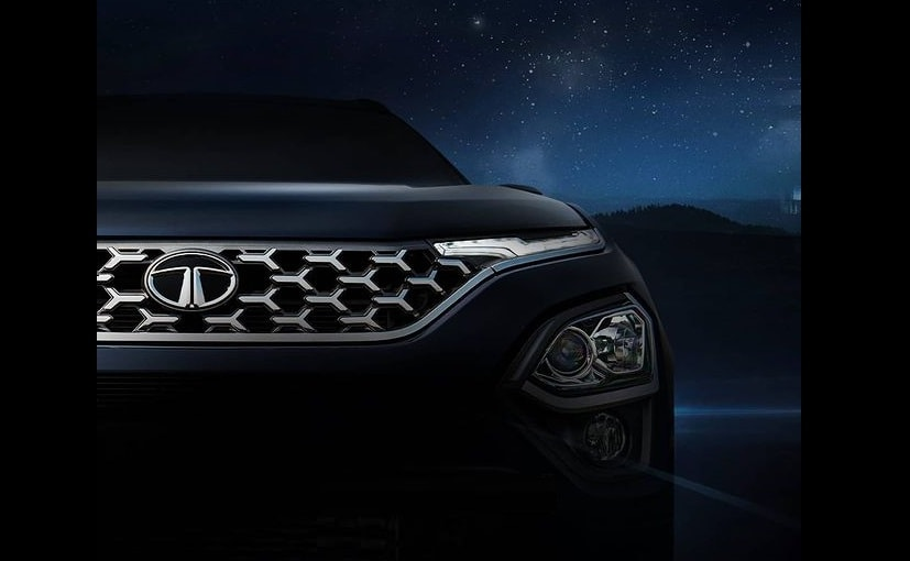 The SUV was previewed in the form of Tata Buzzard Concept at the 2019 Geneva Motor Show.