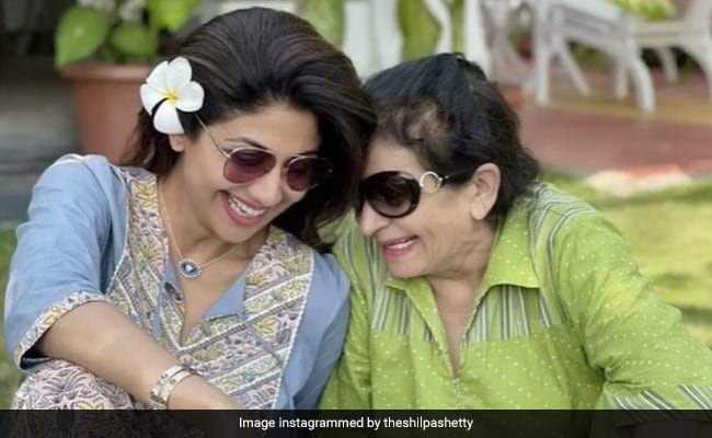 Nothing To See Here. Just Shilpa Shetty And Her Mother-In-Law 'Gossiping' About Raj Kundra