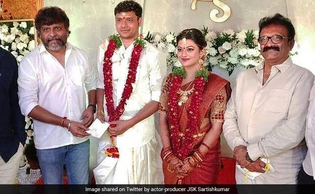 Viral: Pics From Tamil Actress Anandhi's Intimate Wedding
