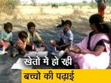 Video : महाराष्ट्र में हर साल पलायन करने वाले मजदूर के बच्चों के लिए खेत में ही खुला स्कूल