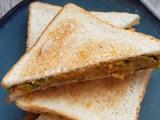 Video: How To Make Aloo Matar Sandwich | Easy Aloo Matar Sandwich Recipe Video