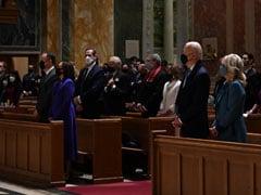 Joe Biden, Wife Attend Mass With Republican, Democratic Congress Leaders