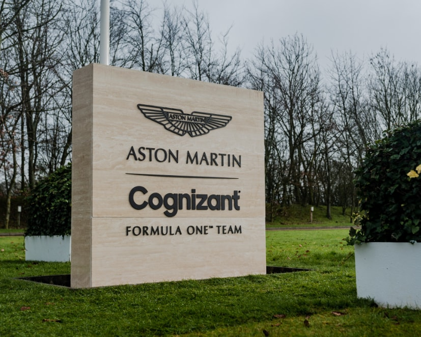 The Aston Martin team returns to F1 after 61 years
