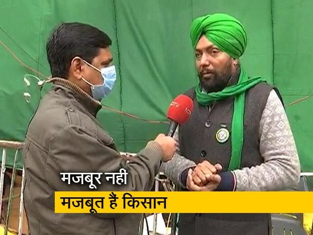 Videos : किसान नेता बोले, बारिश क्या बर्फबारी भी आंदोलन को डिगा नहीं सकती