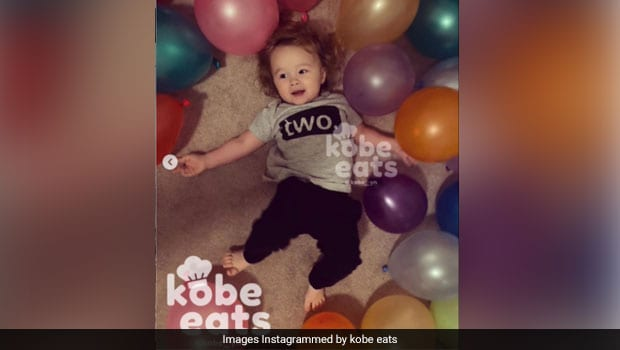 Baby Chef Kobe Turns 2; Internet Drools Over His Cute Birthday Lunch - Check Out The Video