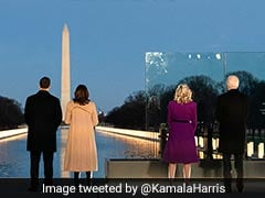 """""""United"""": Kamala Harris's Message On Eve Of Swearing In As US Vice-President"""