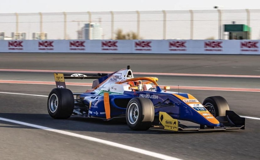Jehan Daruvala started Race 1 from P4 and moved up to P3 to claim first podium in F3 Asia