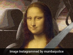 मुंबई पुलिस ने 'Mona Lisa' को कार में बिठाकर पहनाया सीट बेल्ट, लिखा कुछ ऐसा, हंस-हंसकर लोट-पोट हुए लोग