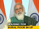 Video : Housing For All: PM Modi Releases ₹ 2,691 Crore For 6.1 Lakh Beneficiaries In UP