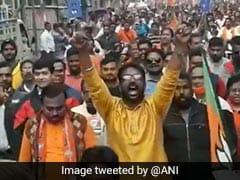 "Day After Surfacing In Trinamool Rally, ""<i>Goli Maaro</i>"" Slogan Back With BJP"