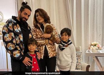Tahira Kashyap Gives Us A Glimpse Of Ayushmann's Vibrant Birthday Spree